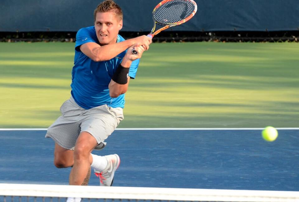 Joueur de Tennis - Compétition de tennis